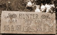 Adam Hunter 1829-1905
